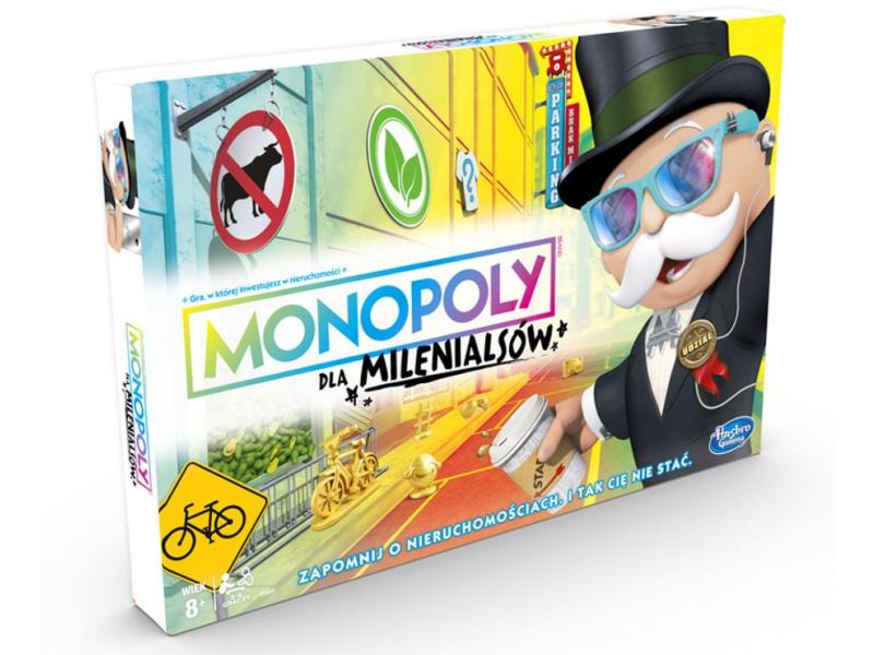 Hasbro Monopoly dla Milenialsów