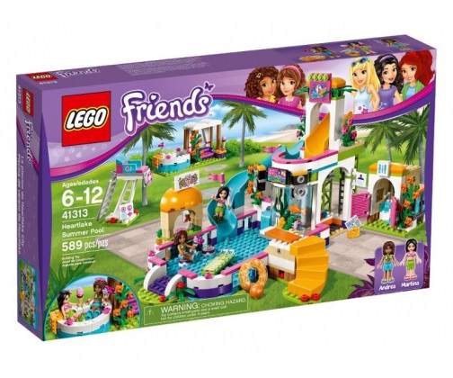 Klocki LEGO Friends Basen w Heartlake