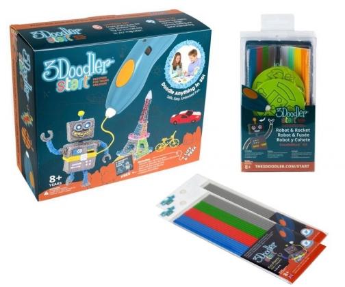 Zabawka plastyczna TM Toys 3Doodler + gratisy