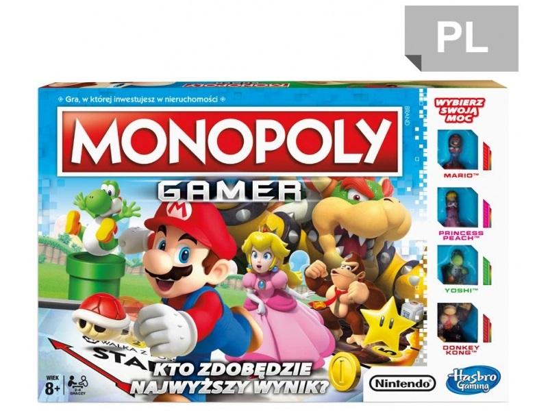 Gra planszowa Hasbro Monopoly Gamer